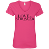 T.D. Jakes - Love Is Stronger - V-Neck T-Shirt - 2