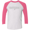 T.D. Jakes - Victorious Cross - Tri-Blend Baseball Raglan
