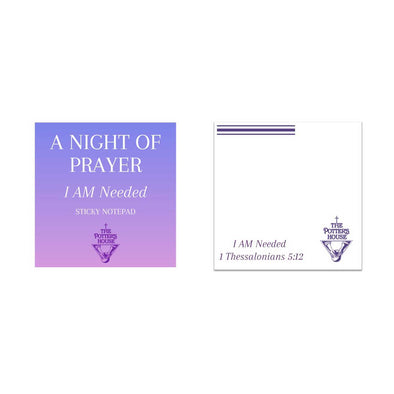 T.D. Jakes - I Am Needed Sticky Notes
