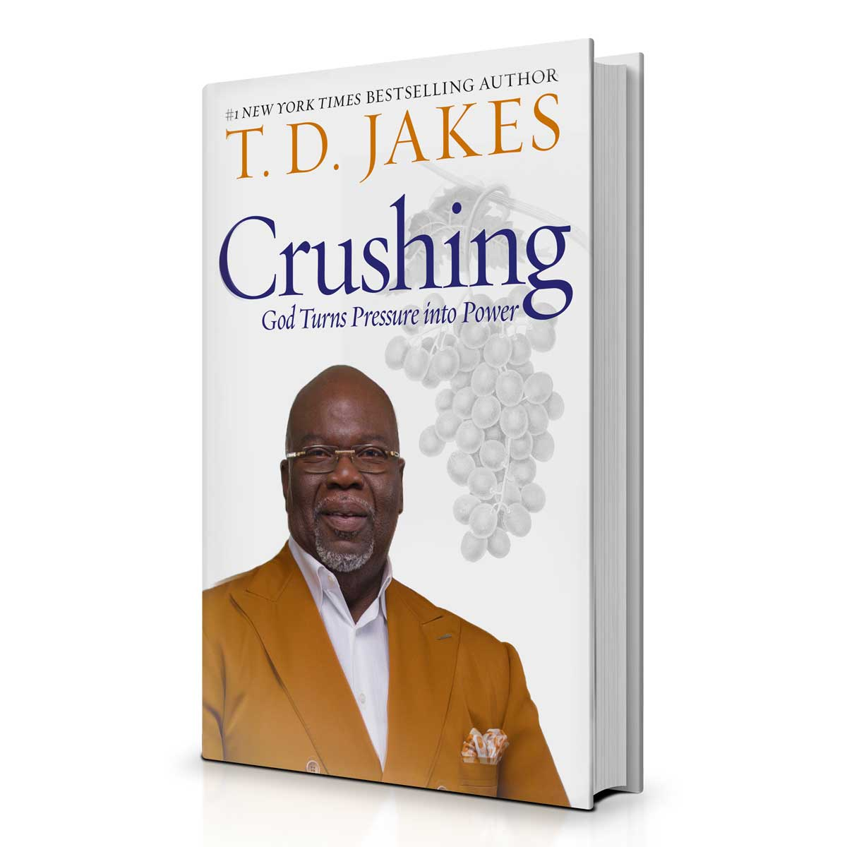 T D  Jakes - Crushing: Pressure Into Power Book