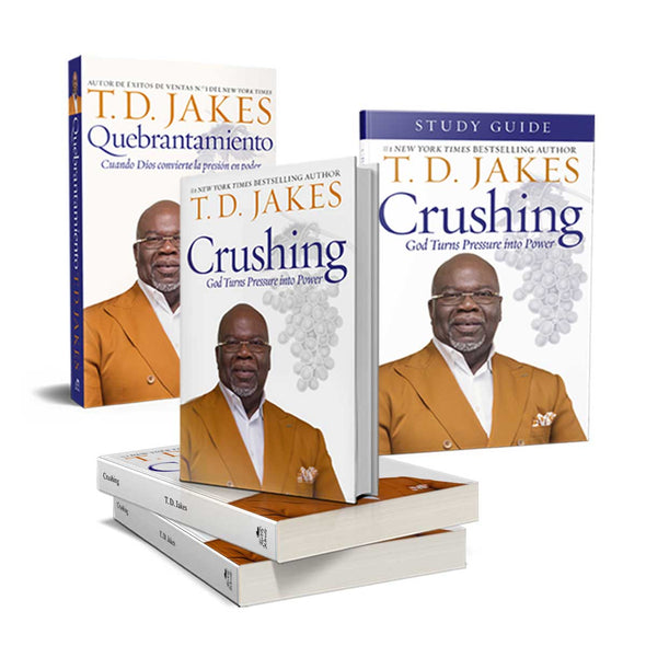 T.D. Jakes - Crushing: Pressure Into Power Bundle