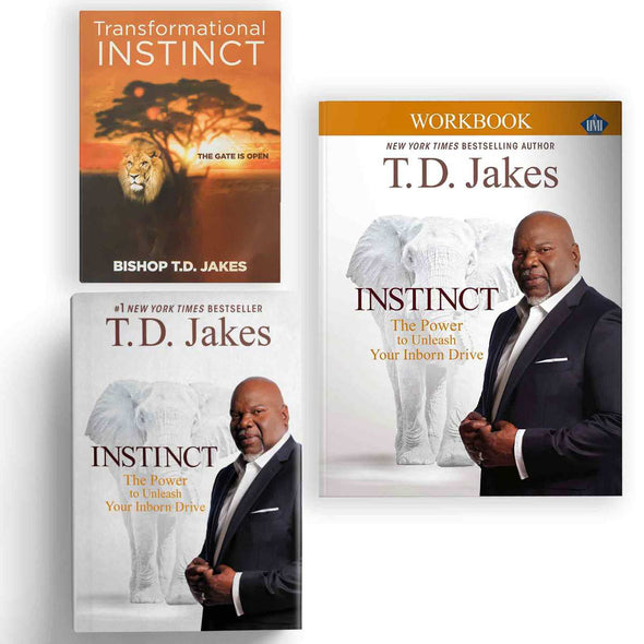 T.D. Jakes - Instinct Bundle