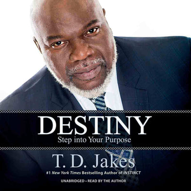 T.D. Jakes - Destiny Book on Audio