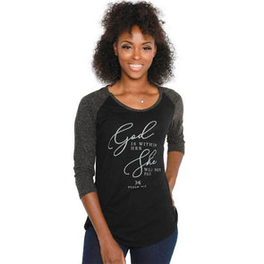 T.D. Jakes - Within Her Raglan T-Shirt