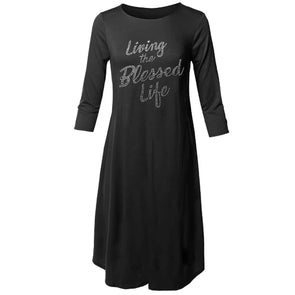 T.D. Jakes Dress - Living the Blessed Life