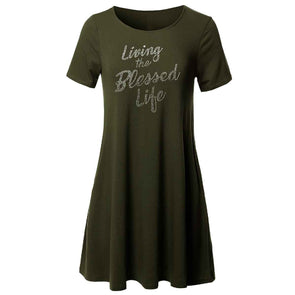 T.D. Jakes Tunic - Living the Blessed