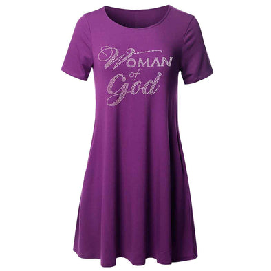 T.D. Jakes Tunic - Woman of God Bling