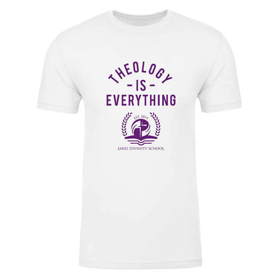 T.D. Jakes - Jakes Divinity School Theology Is Everything T-shirt - White