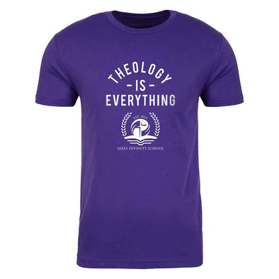 T.D. Jakes - Jakes Divinity School Theology Is Everything T-shirt - Purple