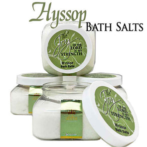 T.D. Jakes - Hyssop Bath Salt 8oz