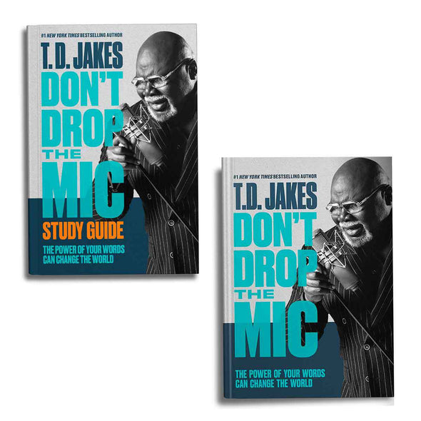 T.D. Jakes - Don't Drop the Mic Combo