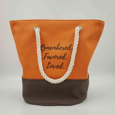 T.D. Jakes - Remembered, Favored, Loved Tote