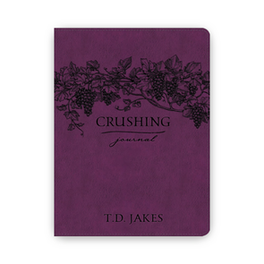 T.D. Jakes - Crushing Leather Luxe Journal