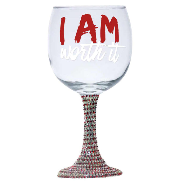 T.D. Jakes - I Am Worth It Decorative Glass Wear