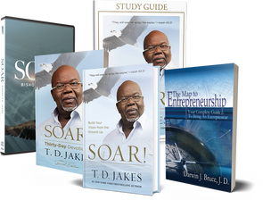 T.D. Jakes – Soar Entrepreneurial Mentorship Pack with 4 MP3 Audio Messages