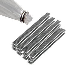 Aluminum Tipper Tie Clips on a Stick
