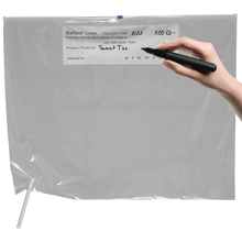 Saftea® Liner with writable information strip