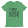 "Naomi ""Feel The Glow"" Logo Women's Tri-Blend T-Shirt - wweretro"