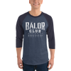 "Finn Bàlor ""Bàlor Club Worldwide"" 3/4 sleeve raglan shirt - wweretro"