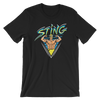 "Sting ""Illustrated Surfer"" Unisex T-Shirt - wweretro"