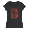 "Edge ""Collage"" Women's Tri-Blend T-shirt - wweretro"