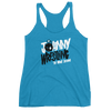 "Johnny Gargano ""Johnny Wrestling"" Women's Racerback Tank - wweretro"