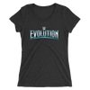 WWE Evolution Logo Women's Tri-Blend T-Shirt - wweretro