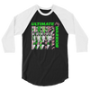 Ultimate Warrior 3/4 Sleeve Raglan T-Shirt