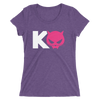 "Kevin Owens & Natalya ""Team Pawz Logo"" Women's Tri-Blend T-shirt"
