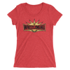 WrestleMania 35 Logo Women's Tri-Blend T-shirt
