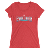 WWE Evolution Logo Women's Tri-Blend T-Shirt
