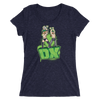 "D-Generation X ""Illustrated Logo"" Women's Tri-Blend T-Shirt - wweretro"