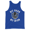 "Roman Reigns ""Hit Hard, Hit Often"" Unisex Tank Top - wweretro"
