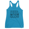 "Naomi ""Feel The Glow"" Logo Women's Racerback Tank Top - wweretro"