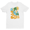 "SummerSlam 2018 ""Sunny Letters"" Fitted T-Shirt - wweretro"