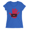 "Andre the Giant ""Handprint"" Women's Tri-blend T-Shirt - wweretro"