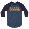 "The Undisputed Era ""Shock The System"" 3/4 sleeve raglan shirt - wweretro"