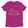 "Naomi ""Pump It Up"" Women's Tri-Blend T-Shirt - wweretro"