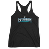 WWE Evolution Logo Women's Racerback Tank Top
