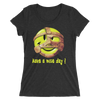 "Mankind ""Have a Nice Day"" Women's Tri-blend T-shirt - wweretro"