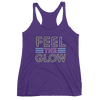 "Naomi ""Feel The Glow"" Women's Racerback Tank Top - wweretro"