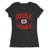 "The Bella Twins ""Double Trouble"" Women's Tri-Blend T-Shirt - wweretro"