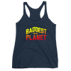 "Ronda Rousey ""Baddest on the Planet"" Women's Racerback Tank"