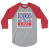 "Drew Gulak ""Election"" 3/4 Sleeve Raglan T-Shirt - wweretro"