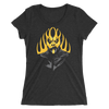 "Goldust ""Ashes to Ashes"" Ladies' short sleeve t-shirt - wweretro"