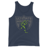 "Ultimate Warrior ""Running"" Unisex Tank Top - wweretro"