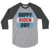 "Aiden English ""Happy Aiden Day"" 3/4 Sleeve Raglan T-Shirt - wweretro"