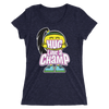 "Bayley ""Hug Like A Champ"" Women's Tri-Blend T-Shirt - wweretro"