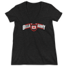 "The Bella Twins ""Bella Army"" Women's Deep V-Neck T-Shirt"