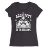 "Seth Rollins ""The Artchitect"" Tri-Blend Women's T-Shirt - wweretro"